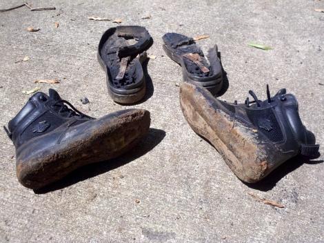 Big bore boots, little lasting quality!