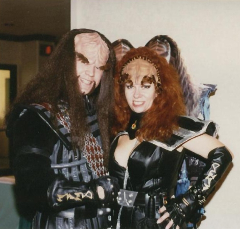 Channel 44 Mad Klingon and me!