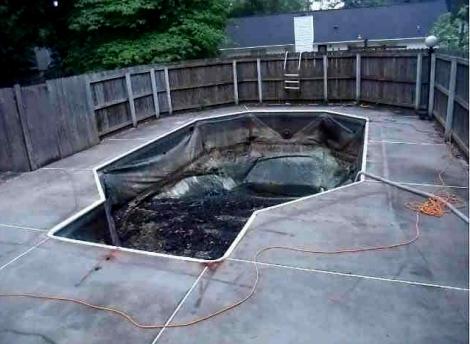 pool empty 1