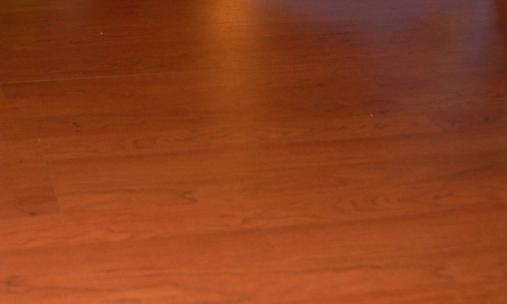 gaps in floor fixed