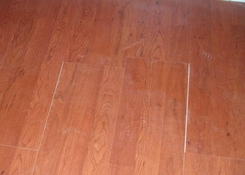 gaps in floor
