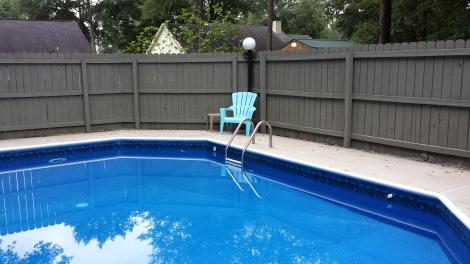 pool w fence